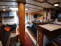 La barca all interno