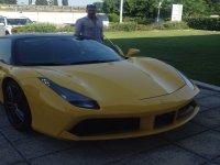 Stupenda Ferrari gialla