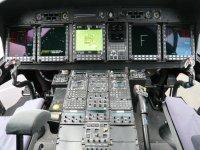 La cabina del pilota