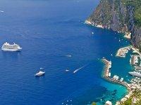 Escursioni in crociera per le isole del golfo di Napoli