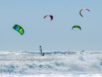 Kite, vento e onde