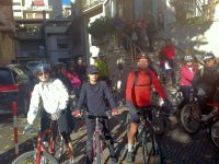 In Val D'Orcia in Bike