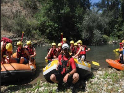 Rafting Discovery (1.30h), Tanagro River / Calore