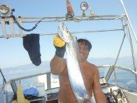 Pesce Lama a bolentino di profondità