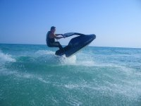 Acrobazie in moto d'acqua