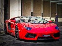 Lamborghini rosso fiammante