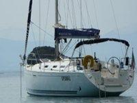 La barca ormeggiata