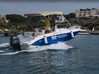 Noleggio barche per escursioni verso Gallipoli