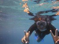 un pò di snorkeling