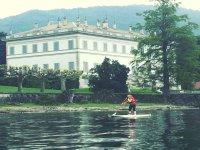 Paddle surf per scoprire le ville del Lago di Como