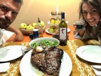 Wine tour in Toscany with Fiorentina steak