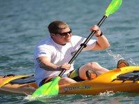 Giro in canoa