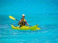 Un giro in canoa