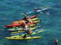 Kayak in acqua