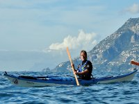 Paddling to discover the coast