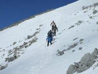 Daytime snowshoeing