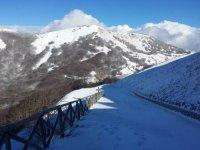 Snow on the Madonie