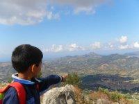 Sulla cima di uno dei Monticelli