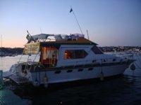 Imbarcazione del diving