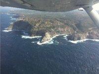 Panoramic Sardinia flights