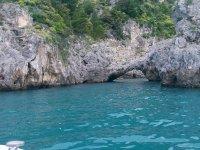 il mare della costiera amalfitana