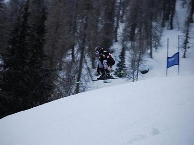Ski Race Dolomiti Piste Sci