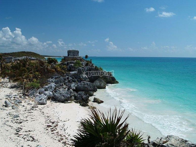 Splendida caletta caraibica