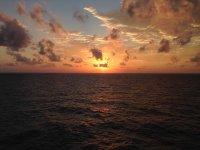 Tramonto ai Caraibi