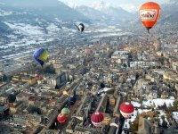 In volo sulla Valle d'Aosta