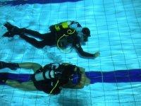 Esercitazione in piscina