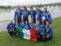 equipaggio campione mondiale