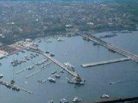 large boat park