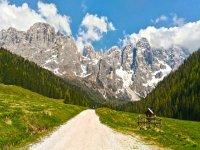 Un bellissimo paesaggio del Trentino