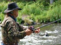 Pesca nel fiume