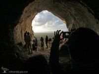 In the Grotta dei Millenari