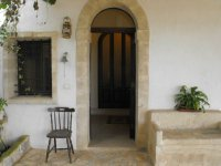 The entrance of the Masseria