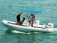 hire of inflatable boats Costa Rei