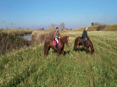 Trekking di 2 giorni a cavallo ad Orvinio