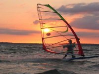 windsurfing lessons in Costa Rei