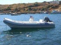 Rental rubber boats Sicily