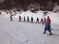 Corsi di gruppo sulla neve