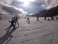 I corsi per i bimbi sulla neve