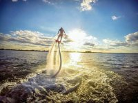 Experience the thrill of the flyboard