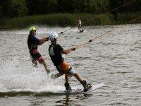 Sciando in acqua