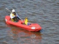 Canoa in mare