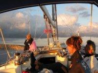 Momenti di vita in barca