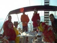 Crociera a mare aperto
