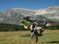 Acrobazie con la bici