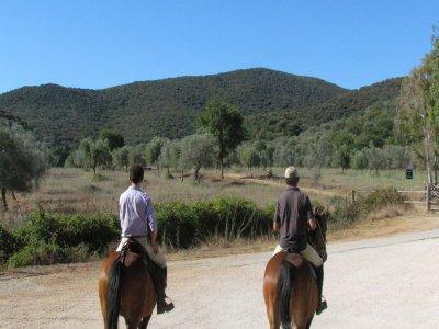 Week end a cavallo nel parco della Maremma