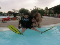 Bimbi e diving